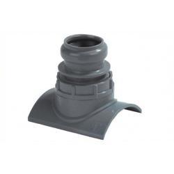 PVC Klem Aanboorzadel Ø125*40 mm 371088