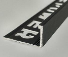 ELTEX Recht Alu Antraciet 6 x 2700mm Tegelprofiel