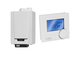Remeha Tzerra Ace HR Combi CW3 24C (A-label) + Remeha qSense kamerthermostaat