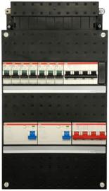 ABB HAF Groepenkast 3F 7 Groep 7x16A+1 B16A 2xAL 40A 1xHS 4P