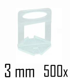 Titan Prof Tile Level Voetstuk 3 mm (500x)