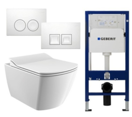 Geberit UP100 Inbouwreservoirset EG321 Rimless