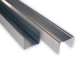 Metall Stud U-profiel staal 75/40 400cm