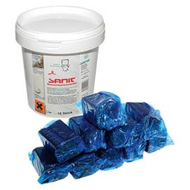 Sanit 3056 Toiletblokjes voor Toiletblokhouder (10x)