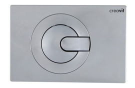 Creavit GP5004.00 Bedieningspaneel POWER GLANS CHROOM