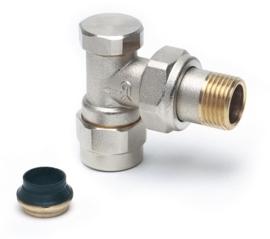 GK Haaks Voetventiel (15 mm) O-ring