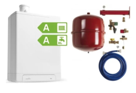 Intergas HRE36/48A CW5 Kombi Kompakt RF2 (A-label) + ketelaansluitset