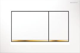 Geberit Bedieningsplaat Sigma30 Wit - Goud 115883KK1