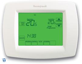 Honeywell Chronotherm VISION Touchscreen TH8100U1004