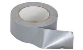 Kip 524-48 Duct-tape Steenband 48mm x 50m.