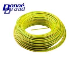 Donne VD Draad Geel / Groen 2,5 mm2 100m.