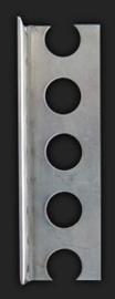 Stucstopprofiel 2178RVS 300cm (8 mm)