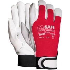 M-Safe 11146111 Tropic Premium Werkhandschoen Velcro Maat 11