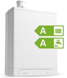 Intergas HRE 24/18 A CW3 Kombi Kompakt RF2 (A-label)