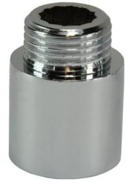 Verlengstuk Kraan Chroom 1/2 x 25 mm