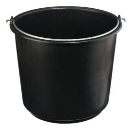 Bouwemmer 12L Zwart