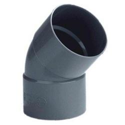 PVC Lijmbocht M/M 45° Ø75 mm 52920
