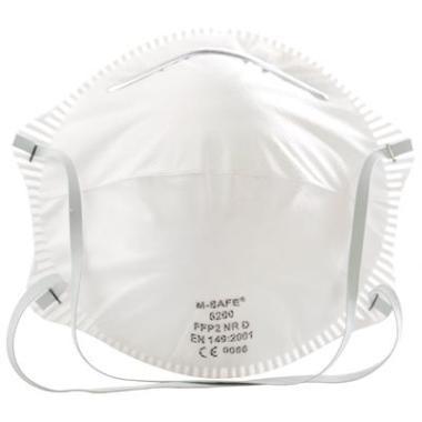 M-Safe 40562000 Stofmasker (6200) FFP2 NR D