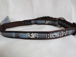 Rogz for Dogs Surf Tartan Halsband