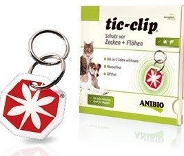Anibio Tic-clip tegen vlooien en teken