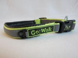 Go Walk Halsband Reflecterend Grijs/Groen