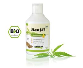 Anibio Hennep Olie BIO 500 ml