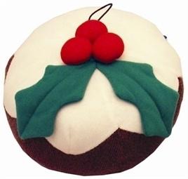 Kerstpudding Pluche Bal