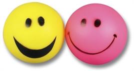 Bal met smiley 6,5 cm
