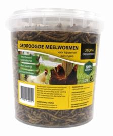 Gedroogde Meelwormen 1,2 L