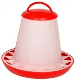 Voersilo plastic rood