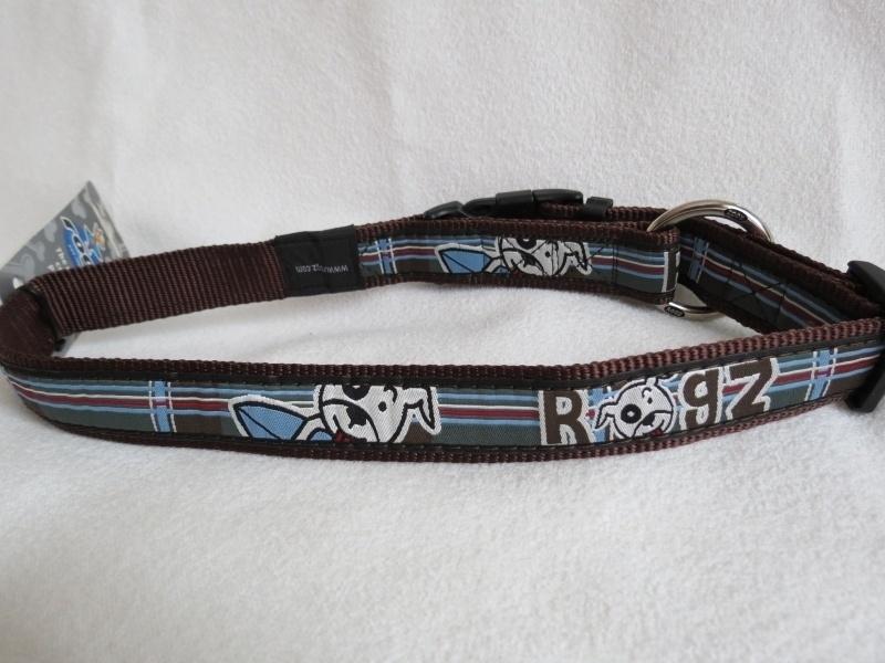 Rogz for Dogs Surf Tartan Halsband