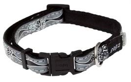 Rogz for Dogs Halsband Zwart reflecterend