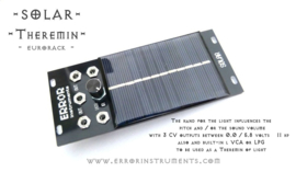 NEW !!  solar theremin eurorack