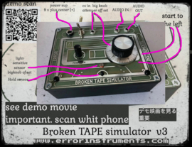 Broken TAPE simulator . v3