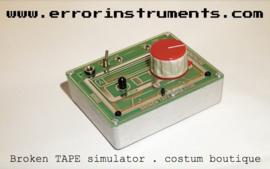 Broken tape simulator  .costum red green 5 made