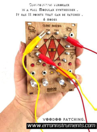 NEW ! Cloudbusting eurorack  wood