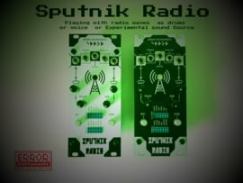 Sputnik Radio  white