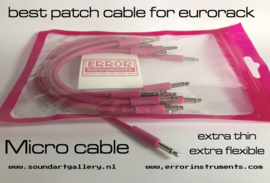 patch cable for eurorack 15 cm  pak of 10