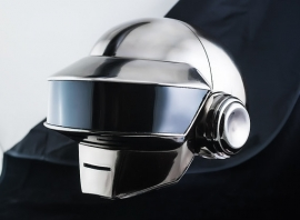 Daft Punk Thomas helmet chrome