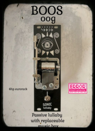 Sonic lullaby BOOS OOG !