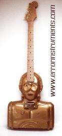 C3PO electric handmade star wars guitar