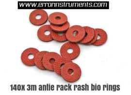 140 x bio M3 Flat Spacer Washers