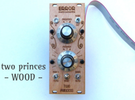 NEW ! TWO Princess WOOD
