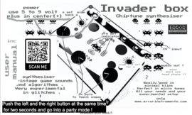 INVADER BOX black !!