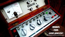 -WOODEN- -TRON- -sound generator-