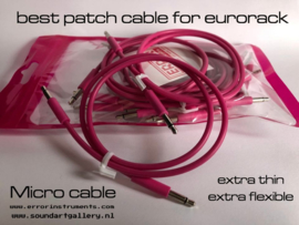 patch cable for eurorack 50 cm  pak of 10