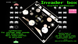 INVADER BOX black !!