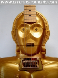 C3PO electric handmade star wars guitar