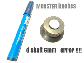 MONSTER KNOB  INDUSTRU  brno