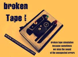 BROKEN TAPE !  the broken tape simulation